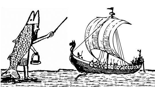 Dagon and Viking Ship