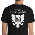 Dept of Occult Studies Stylized t-shirt
